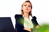 Portrait of a young businesswoman posing for the camera