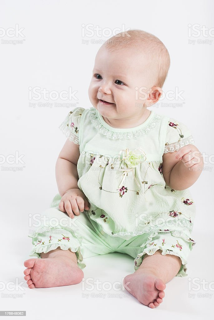 Portrait of a young girl royalty-free stock photo