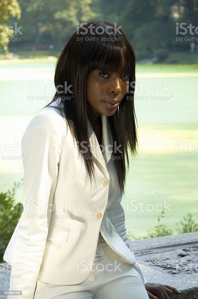 Portrait of a young women royalty-free stock photo