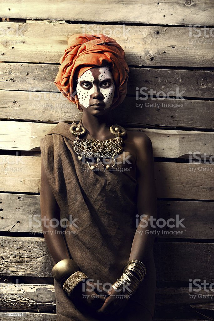 portrait of african women royalty-free stock photo