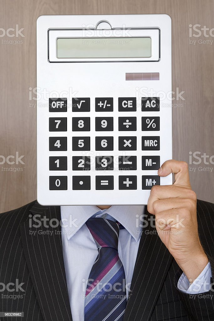 Portrait of an Accountant stock photo
