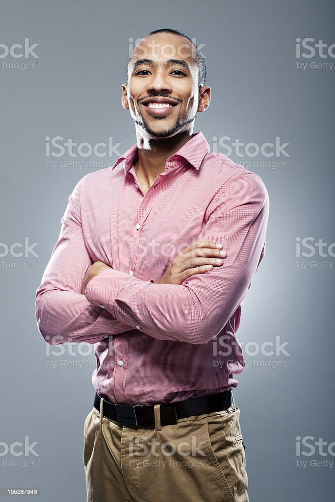 Portrait of an african american royalty-free stock photo