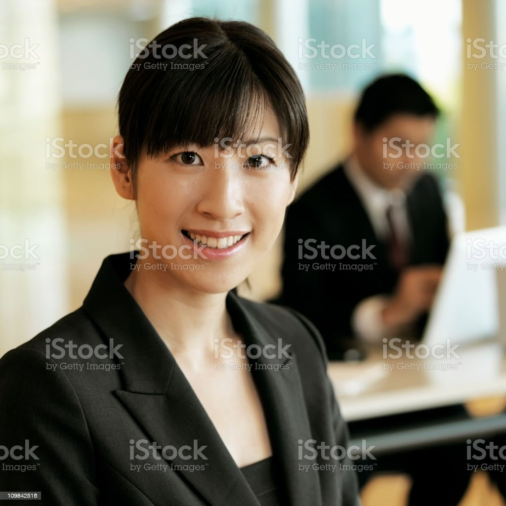 Portrait of an Asian Businesswoman royalty-free stock photo