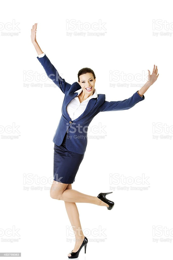 Portrait of an attractive woman. stock photo