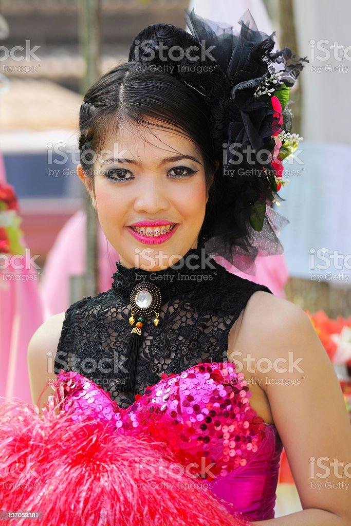 Portret atrakcyjny Młody Tancerz zbiór zdjęć royalty-free