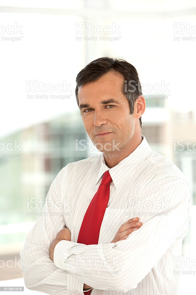 Portrait of an Executive officer stock photo