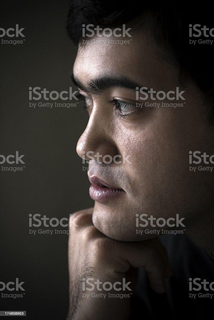 Portrait of an Uzbekistan man royalty-free stock photo