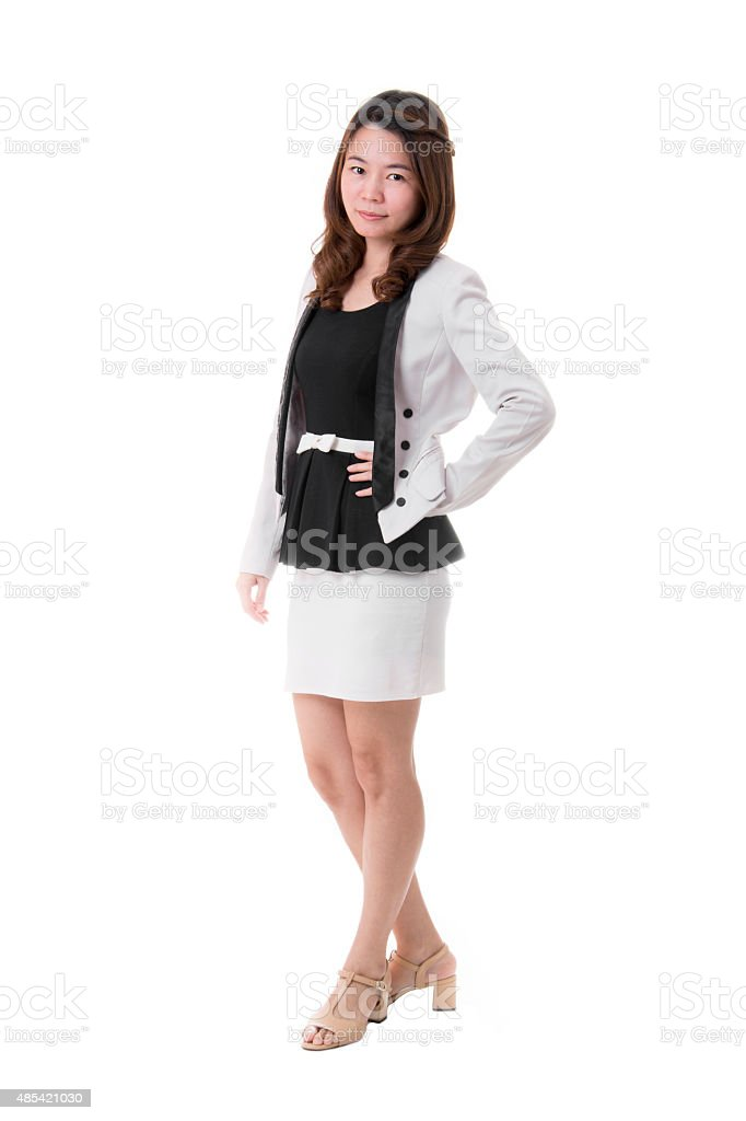 Portrait of Beautiful and Confident Business Woman royalty-free stock photo