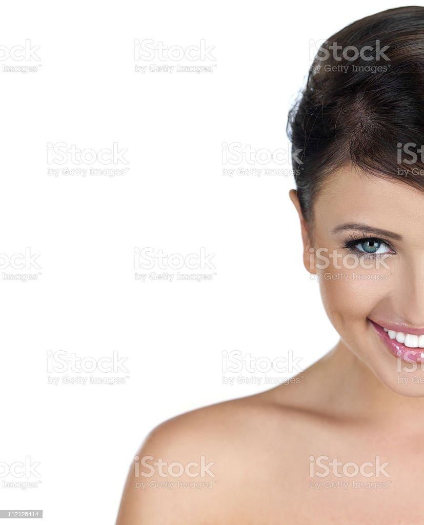 Portrait of beauty stock photo