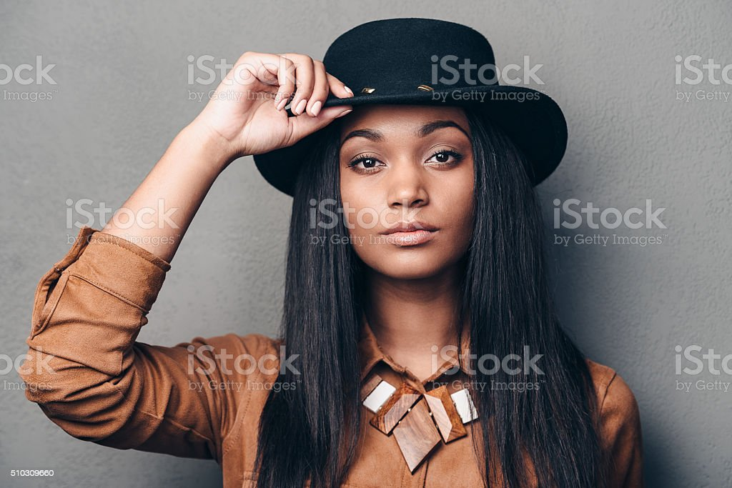 Portrait of beauty. stock photo