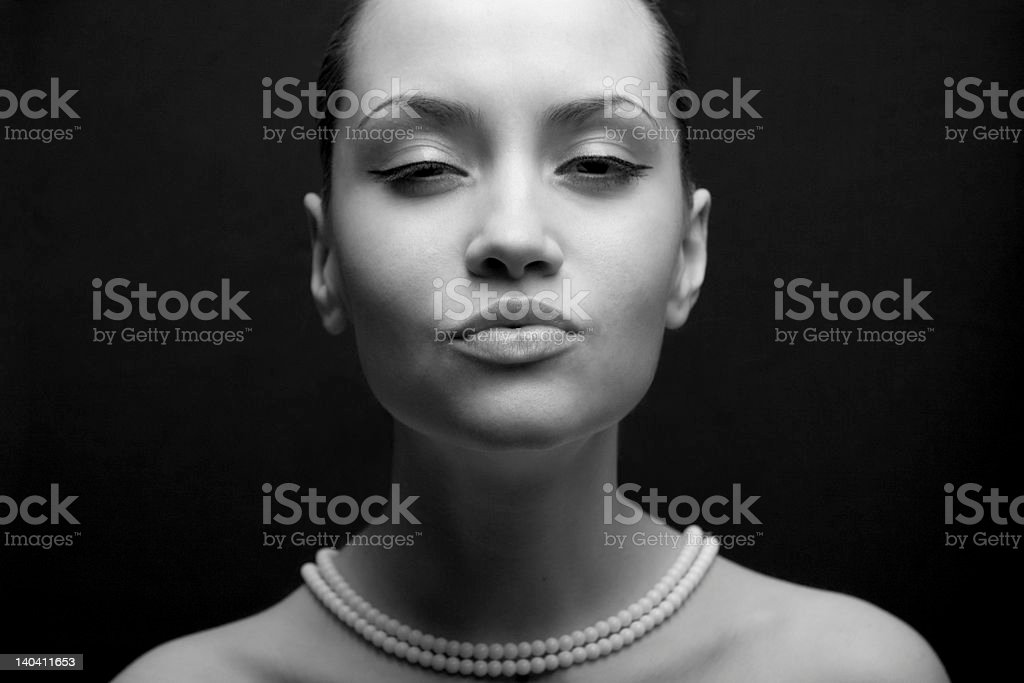 portrait of beauty. Sexy fashion girl. royalty-free stock photo