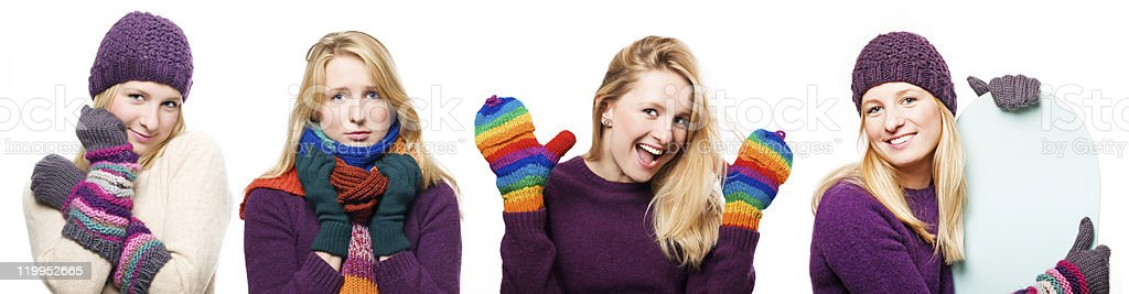 Retrato de belleza mujer joven en cálida sala de estar foto de stock libre de derechos