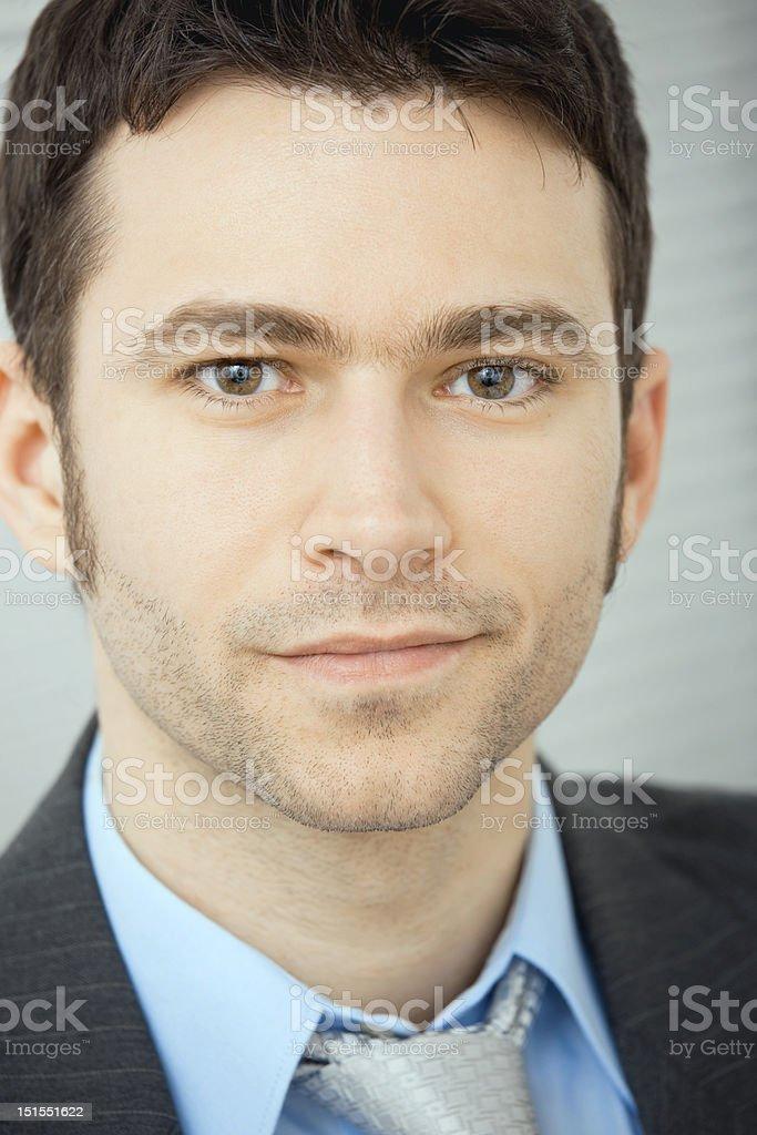 Portrait of businessman royalty-free stock photo