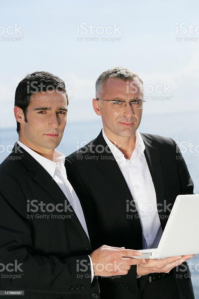 Portrait of businessmen royalty-free stock photo