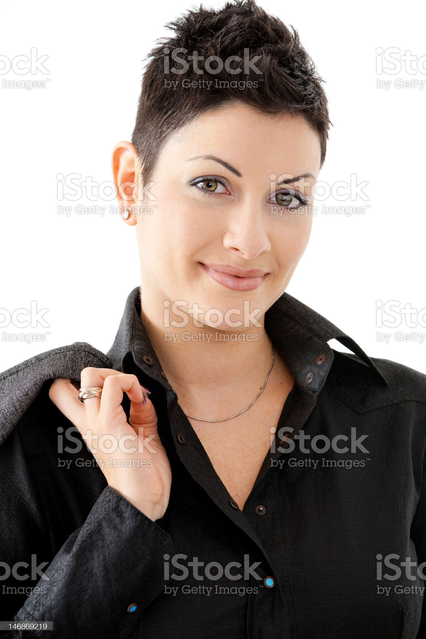 Portrait of businesswoman royalty-free stock photo