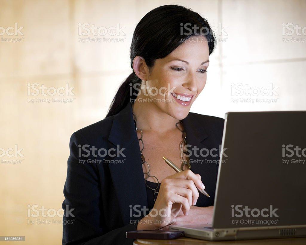 Portrait of Businesswoman. royalty-free stock photo