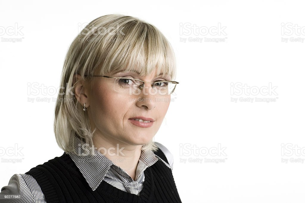 Portrait of businesswoman. royalty-free stock photo