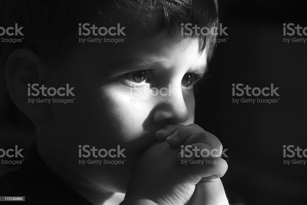 Portrait of Child royalty-free stock photo