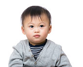Portrait of Chinese toddler