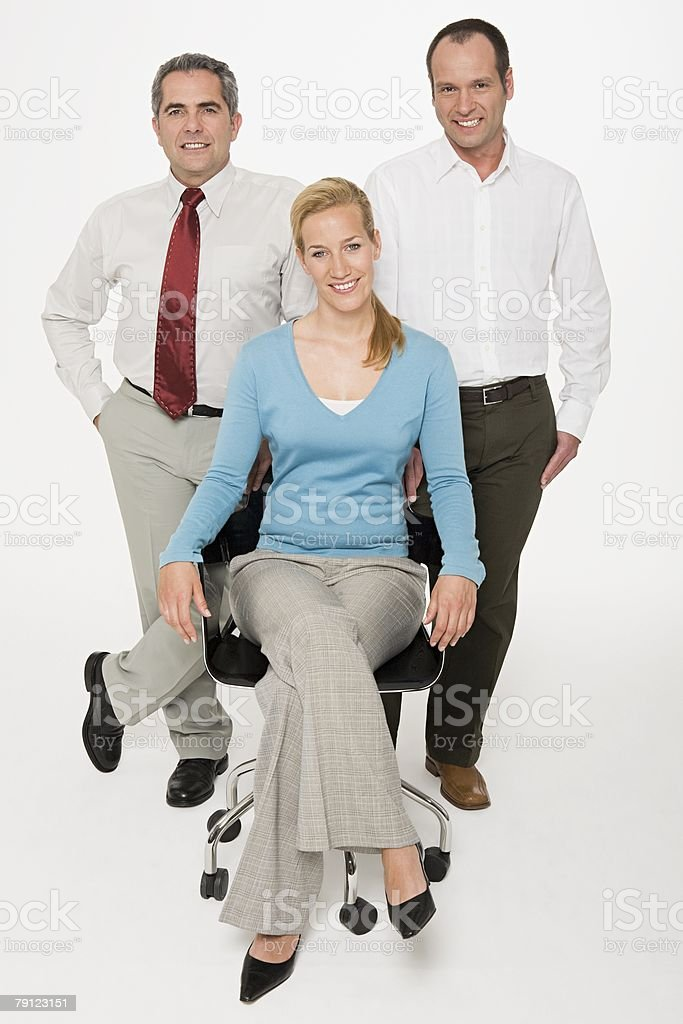 Portrait of colleagues royalty-free stock photo