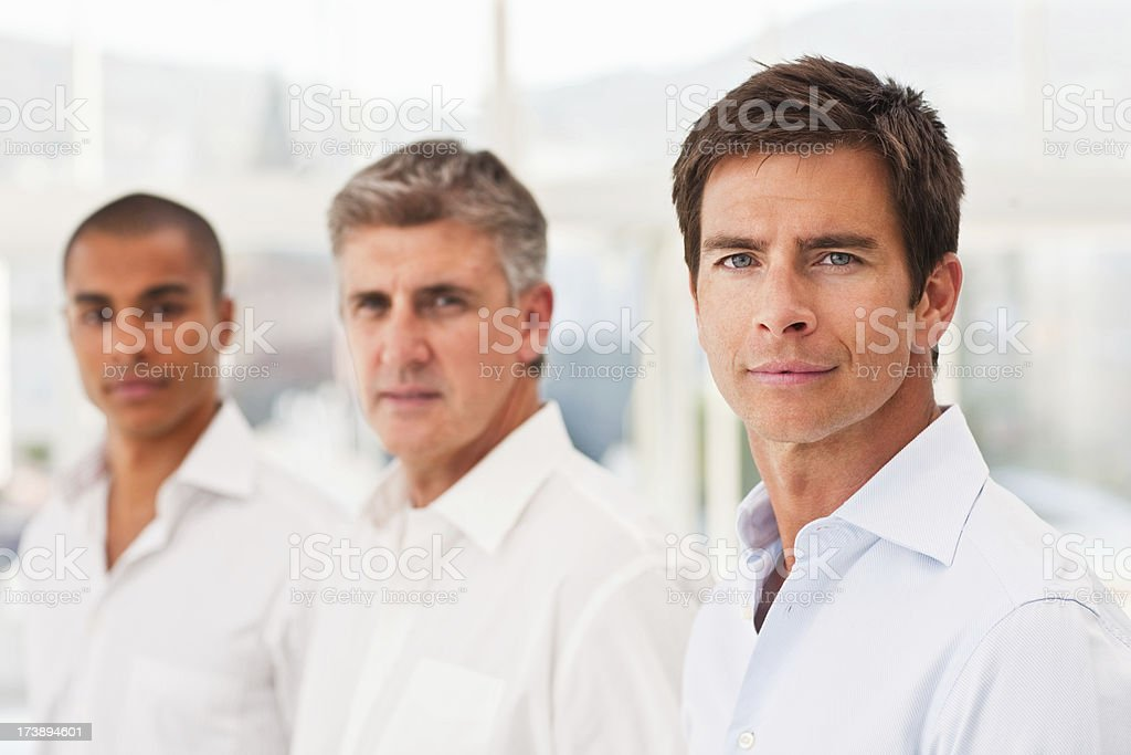 Portrait of confident business colleagues royalty-free stock photo