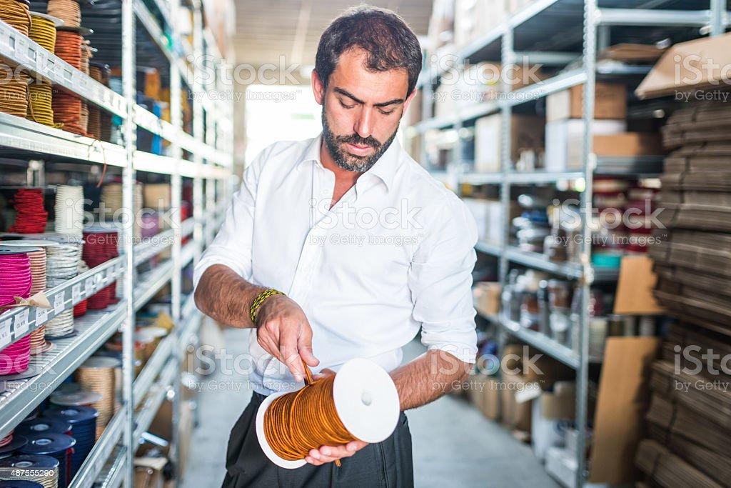 Portrait of Entrepreneur stock photo