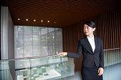 Portrait of Female Japanese Businesswoman Leader, Kyoto, Japan