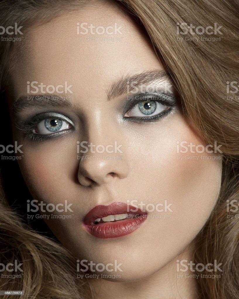 Portrait of female royalty-free stock photo