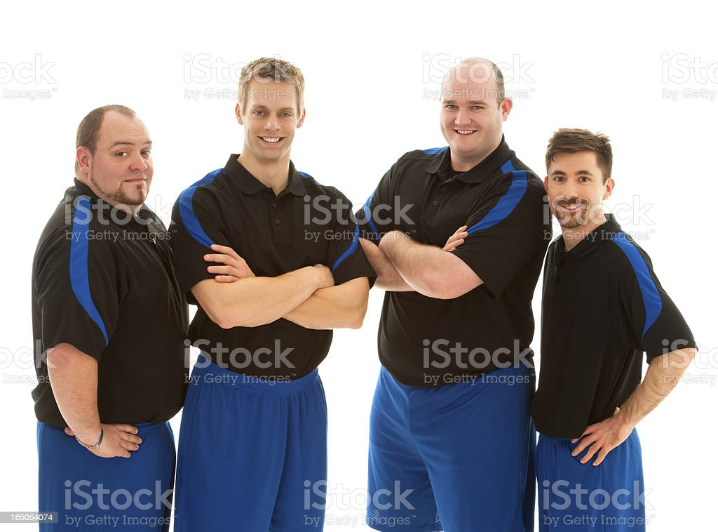 Portrait Of Football Player royalty-free stock photo