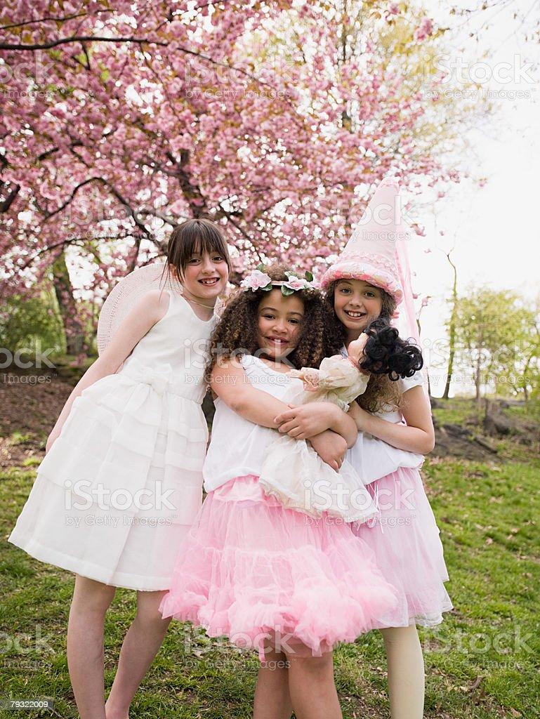Portrait of friends stock photo