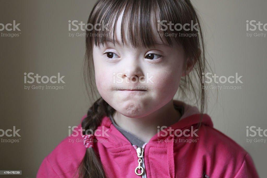 Portrait of girl royalty-free stock photo