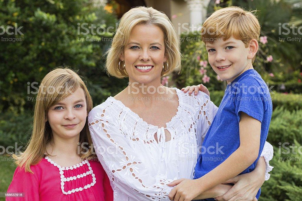 Portrait Of Happy Family royalty-free stock photo