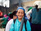 Portrait of Hmong woman