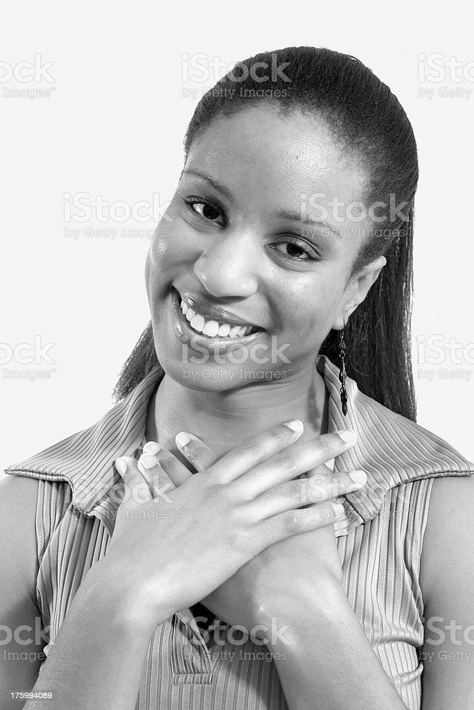 Portret uczciwości zbiór zdjęć royalty-free