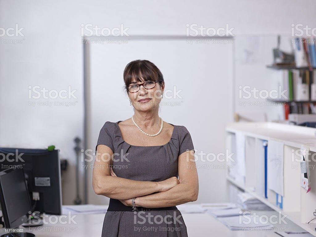 Portrait of individual Architect stock photo