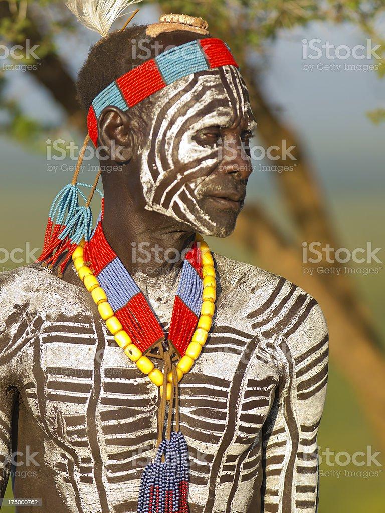 Portrait of Karo royalty-free stock photo