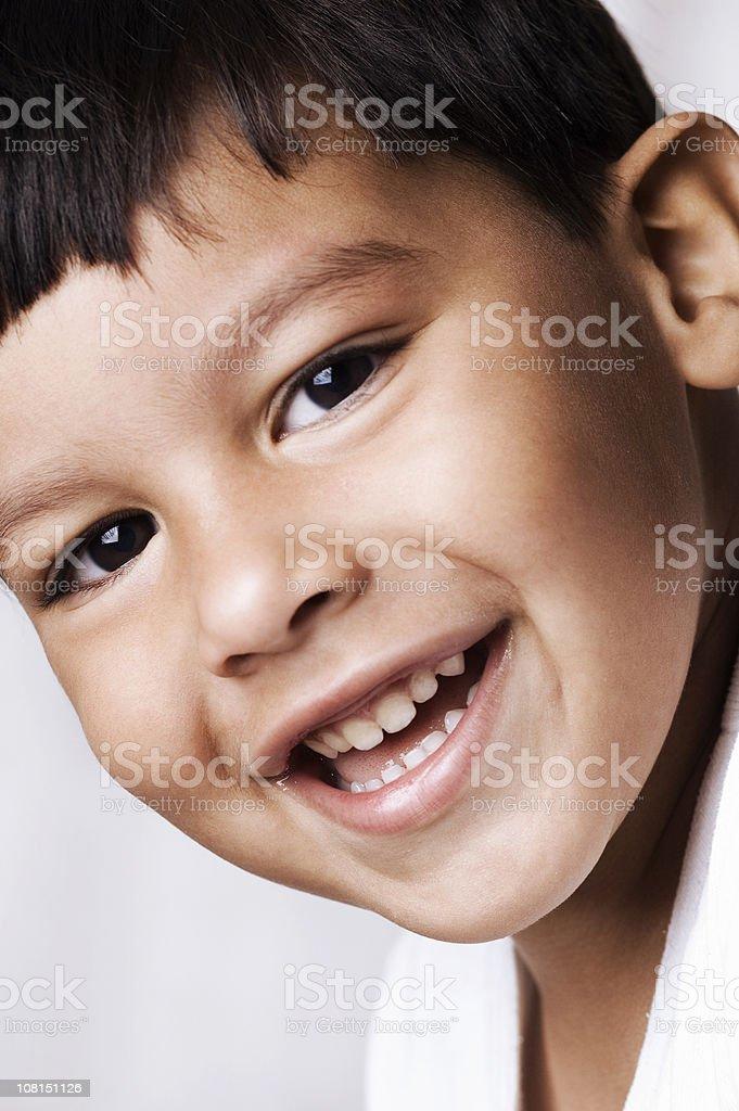 portrait of little boy royalty-free stock photo