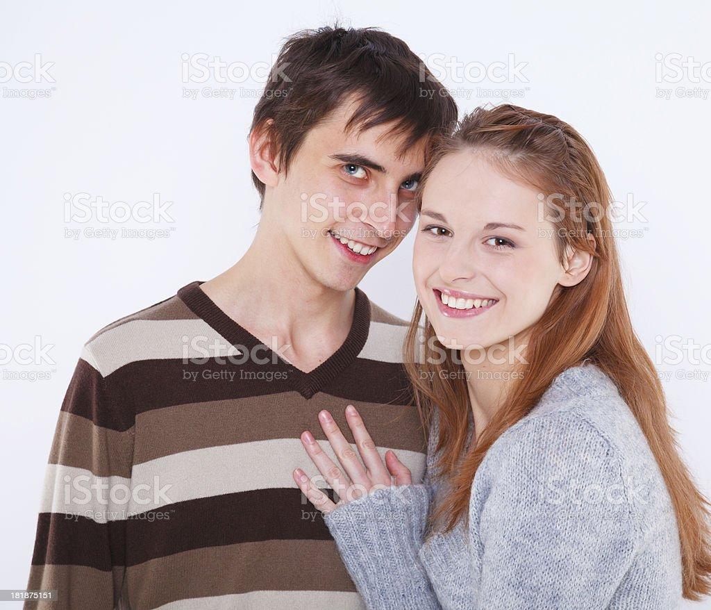 Portrait of love royalty-free stock photo