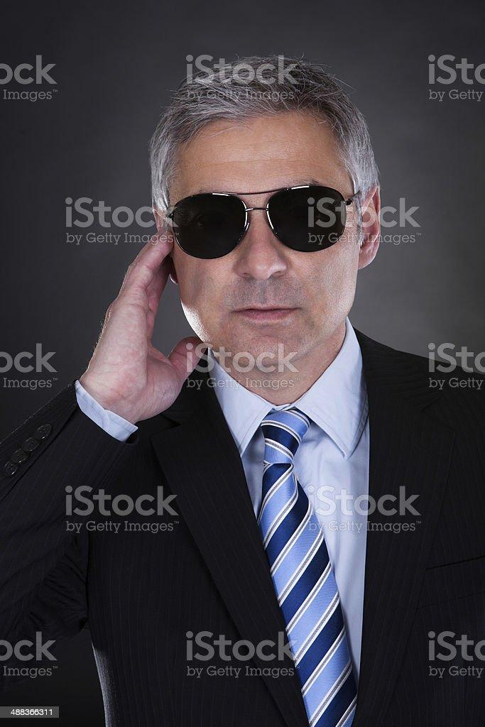 Portrait Of Male Body Guard stock photo