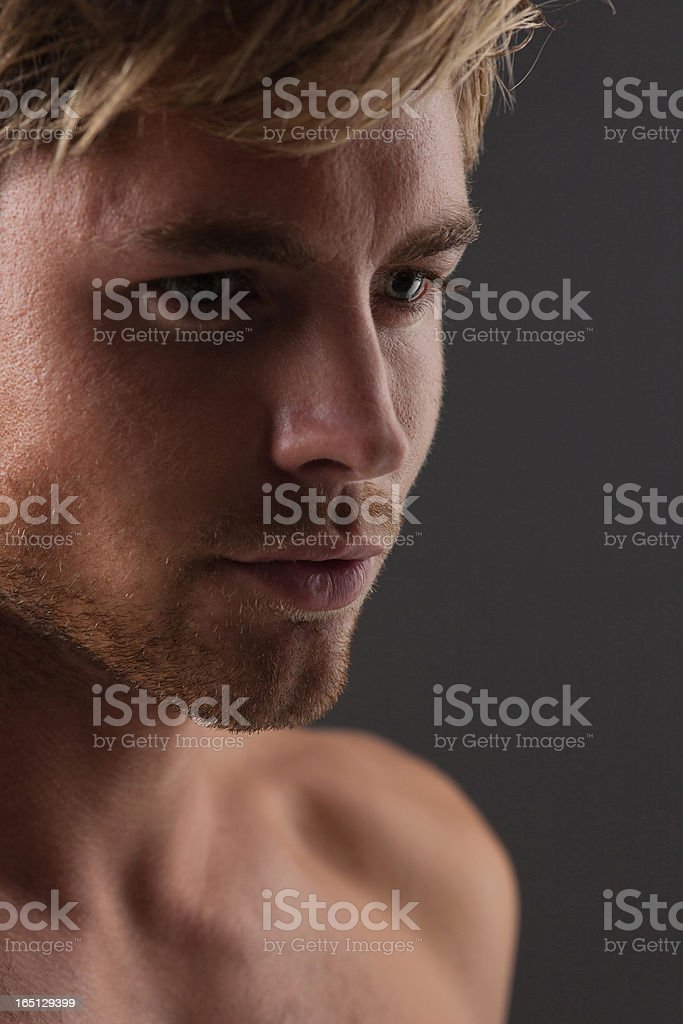 Portrait of man royalty-free stock photo