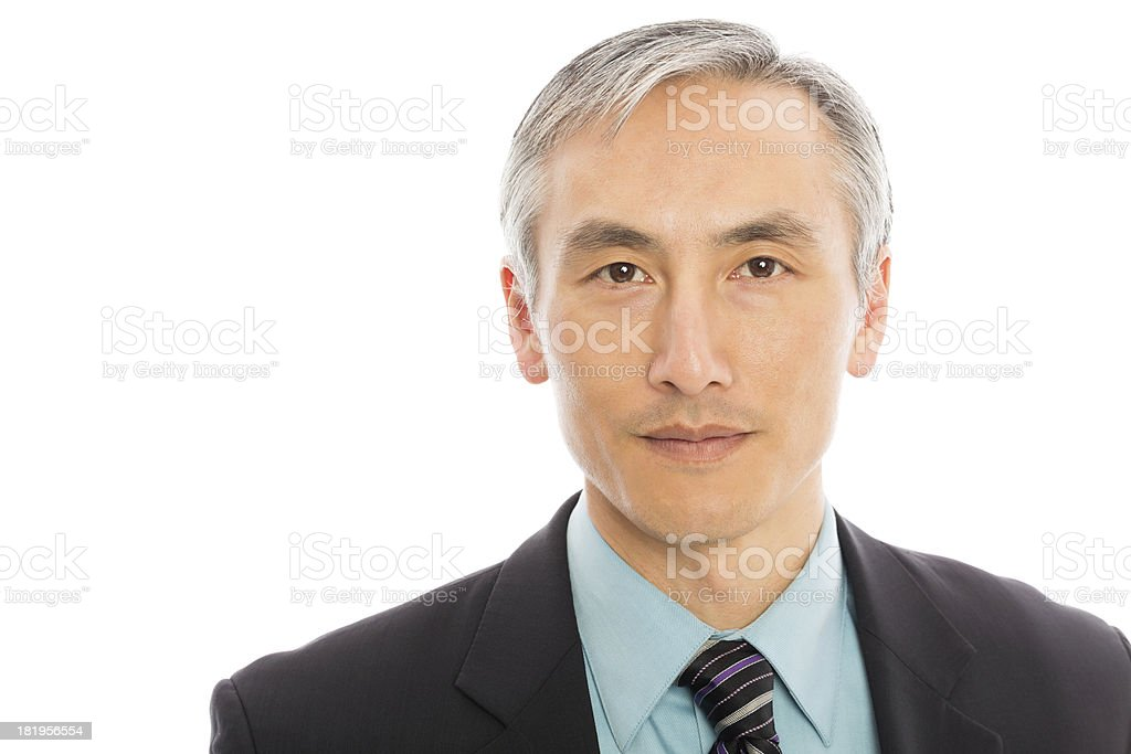 Portrait Of Mature Businessman royalty-free stock photo