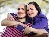Portrait of mature couple otdoors