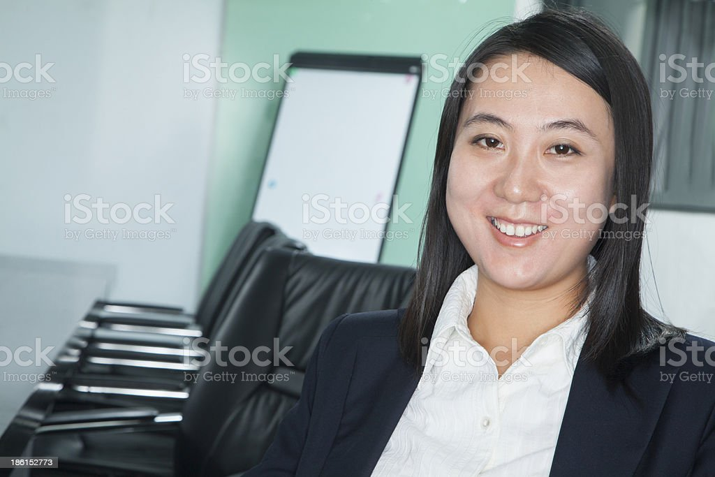 Portrait of Mid Adult Businesswoman royalty-free stock photo