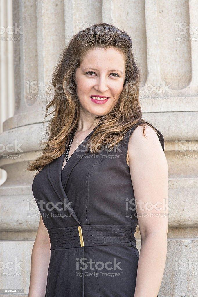 Portrait of Pretty Woman royalty-free stock photo