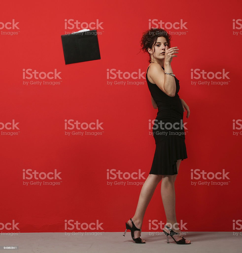 portrait of Pretty Woman royalty-free stock photo