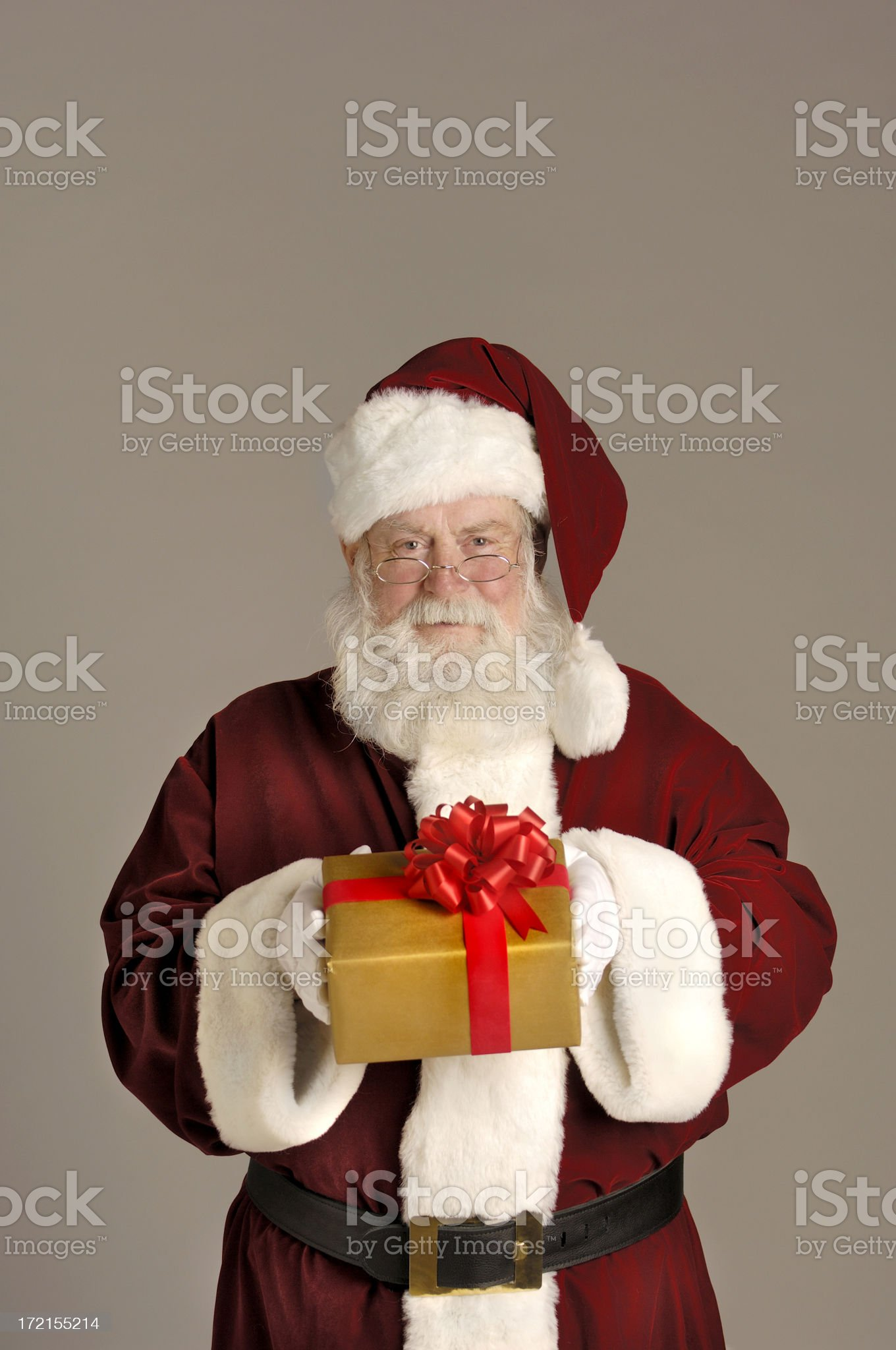 Portrait of Santa I royalty-free stock photo