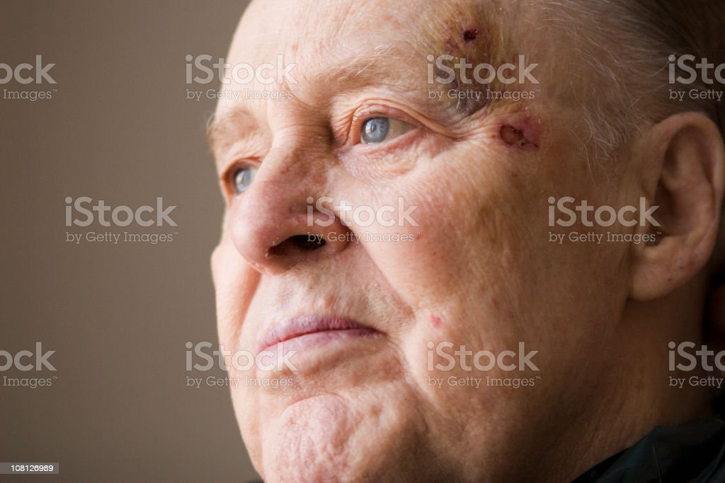 Portrait of Senior Man stock photo