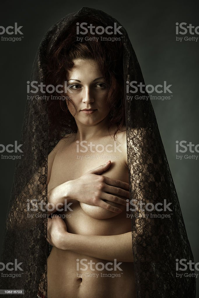 portrait of sexy women royalty-free stock photo