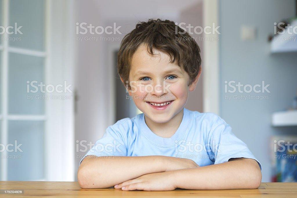 portrait of small boy royalty-free stock photo