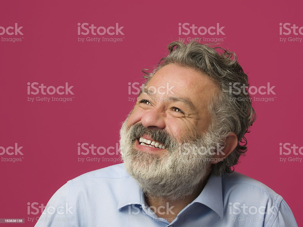 Portrait of smiling mid adult man royalty-free stock photo